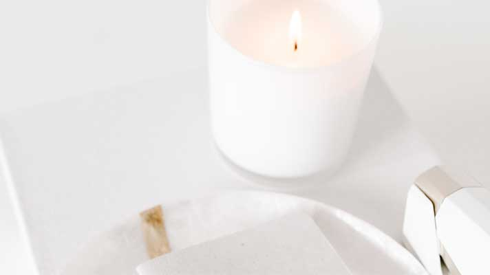 Get to Know Our Staff image - candles help provide calm and relaxation